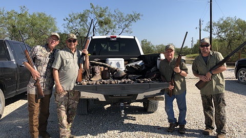 Labor Day Dove Hunt