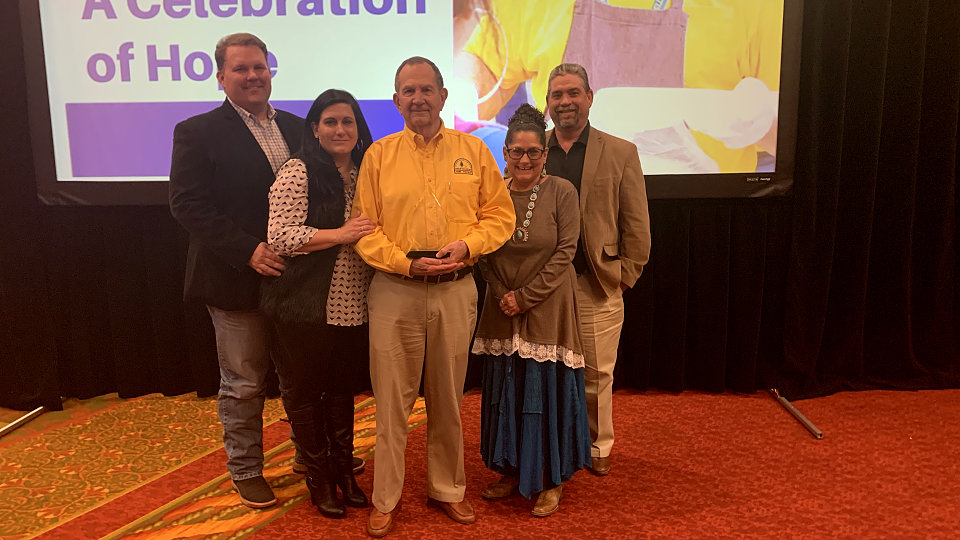 gary smith honored with disaster relief award